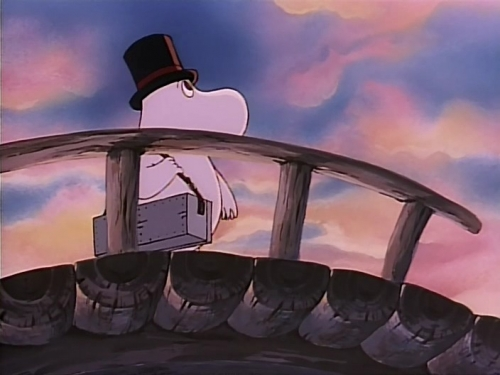 Аниме - Anime - Fun Family Moomintroll: The Comet of Moominvalley - Комета в Долине Муми-троллей [1992]