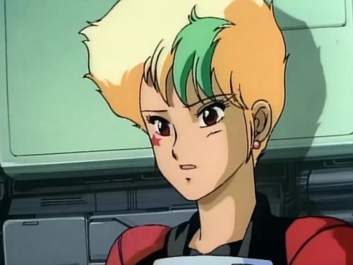 Аниме - Anime - Gall Force 3: Stardust War - Девичья Сила OVA-2 [1988]