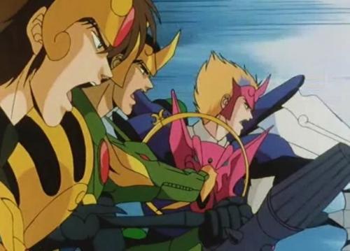 Аниме - Anime - Небесные войны Сюрато [ТВ] - Tenkuu Senki Shurato [1989]