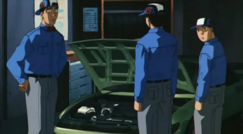 Аниме - Anime - Инициал «Ди» - Стадия третья - Initial D Third Stage [2001]