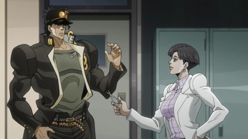 Аниме - Anime - JoJo no Kimyou na Bouken: Stardust Crusaders - Невероятные приключения Джоджо [ТВ-2] [2014]