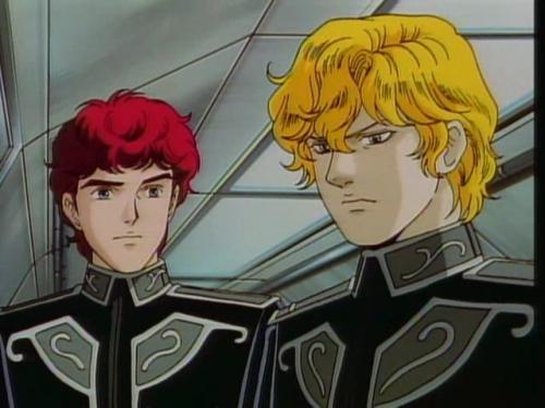 Аниме - Anime - Legend of Galactic Heroes: A Hundred Billion Stars, A Hundred Billion Lights - Легенда о героях Галактики OVA-2 [1998]