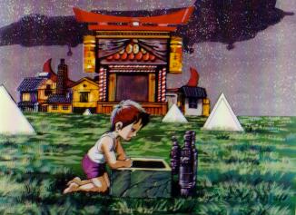 Аниме - Anime - Колыбельная перед Долгим Сном - Nido to Mezamenu Komori Uta [1985]