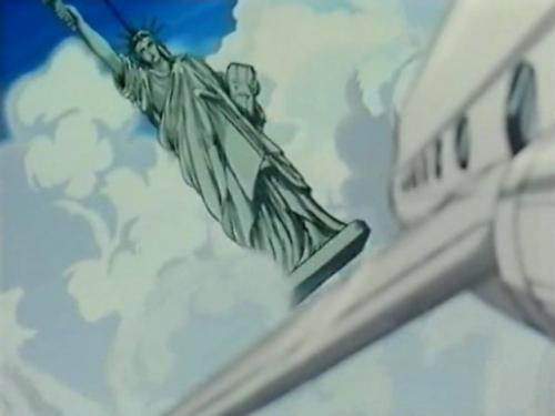 Аниме -             Anime - Lupin III: Bye Bye Liberty Crisis - Люпен III:             Похищение статуи             Свободы (спецвыпуск 01) [1989]