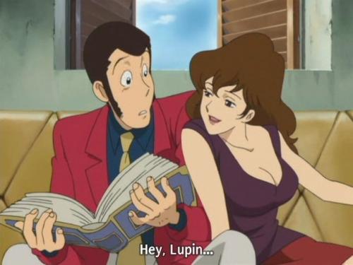 Аниме -             Anime - Lupin III: Elusiveness of the Fog - Люпен III:             Неуловимый, как             туман (спецвыпуск 19) [2007]