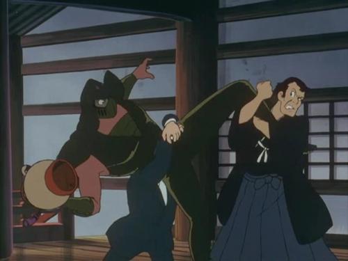 Аниме -             Anime - Lupin III: The Fuma Conspiracy - Люпен III: Заговор             клана Фума             (фильм четвертый) [1987]