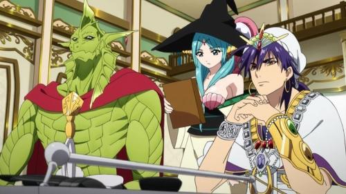 Аниме - Anime - マギ The Kingdom of Magic - Magi: The Kingdom of Magic [2013]
