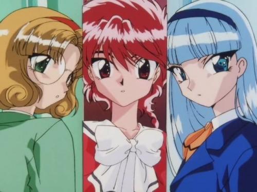 Аниме - Anime - Magic Knight Rayearth - Рыцари магии [ТВ-1] [1994]