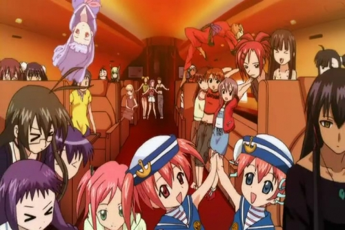 Аниме - Anime - Negima!? Spring Special!? - Волшебный учитель Нэгима! OVA-1 [2006]