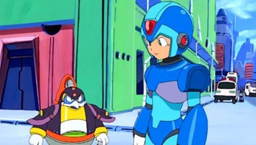 Аниме - Anime - Мегамен Икс - Irregular Hunter X [2005]