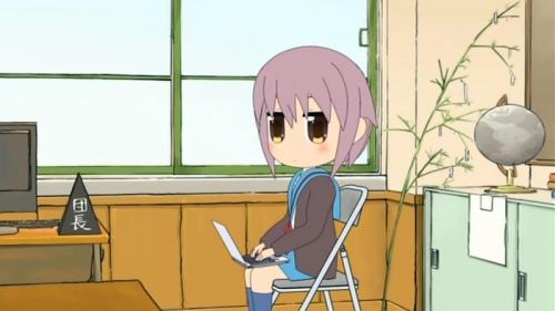 Аниме - Anime - Melancholy of Haruhi-chan Suzumiya - Suzumiya Haruhi-chan no Yuuutsu [2009]