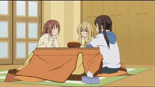 Аниме - Anime - Minami-ke Okaeri - Сестры Минами (третий сезон) [2009]