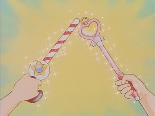 Аниме - Anime - Mahou no Tenshi Creamy Mami vs Mahou no Princess Minky Momo - Mahou no Princess Minky Momo vs Mahou no Tenshi Creamy Mami [1985]