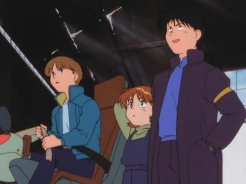 Аниме - Anime - Mobile Suit Victory Gundam - Мобильный воин ГАНДАМ Виктория [1993]