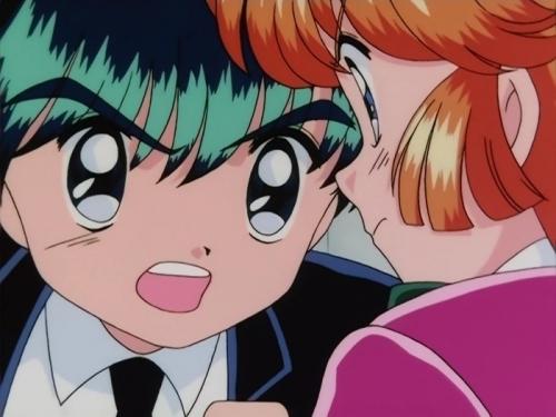 Аниме - Anime - Таинственная грабительница Сент-Тэйл - Kaitou Saint Tail [1995]