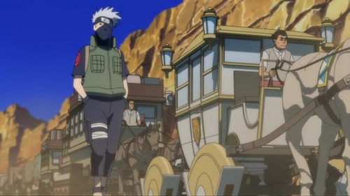 Аниме - Anime - Naruto Movie 3: Large Interest Stirred Up! Cresent Moon Island's Animal Rebellion - Наруто (фильм третий) [2006]