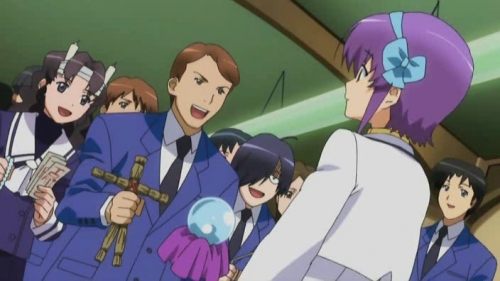 Аниме - Anime - Night Wizard The Animation - Ночной чародей [2007]