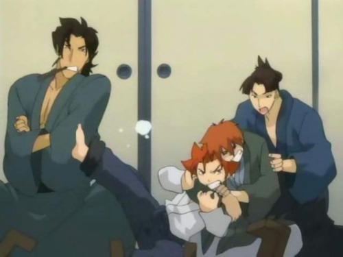Аниме - Anime - Peacemaker - Железный миротворец [2003]