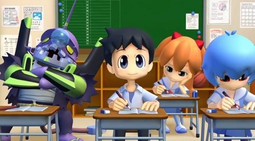 Аниме -             Anime - Petit Eva ~Evangelion@School~ - Puchi Eva:             Evangelion@School             [2007]