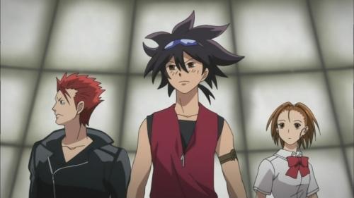 Аниме - Anime - Phi Brain Kami no Puzzle - Phi Brain: Kami no Puzzle [2011]