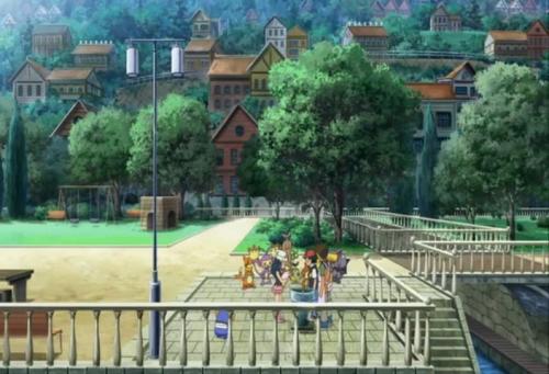 Аниме - Anime - Pocket Monsters Diamond & Pearl: Giratina and the Sky's Bouquet - Покемон (фильм 11) [2008]