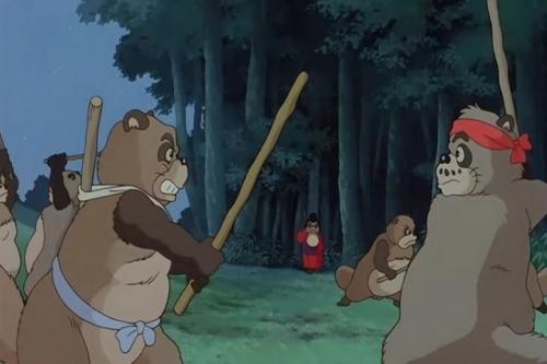Аниме -             Anime - Pom Poko - Война тануки в периоды Хэйсэй и Помпоко             [1994]