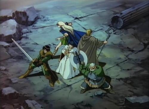 Аниме - Anime - Record of Lodoss War OVA - Летопись войн острова Лодосс OVA [1990]