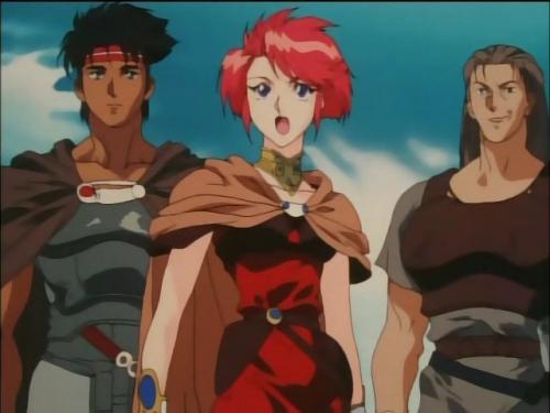 Аниме - Anime - Record of Lodoss War: Legend of the Heroic Knight - Летопись войн острова Лодосс [ТВ] [1998]