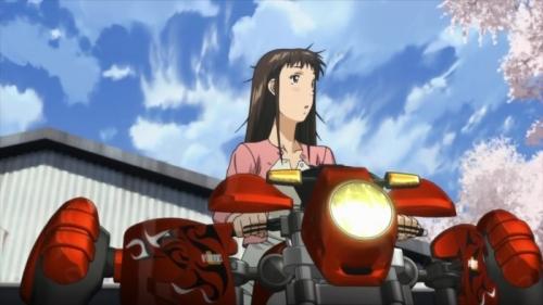 Аниме - Anime - RideBack - Райдбэк [2009]