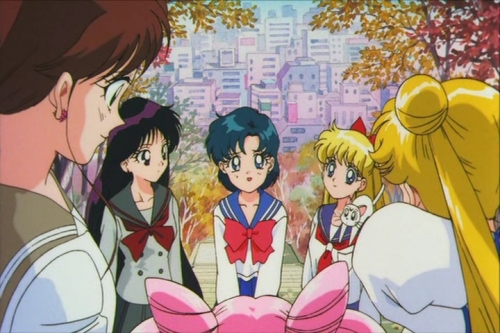 Аниме - Anime - Sailor Moon SuperS Plus - Ami's First Love - Красавица-воин Сейлор Мун Супер Эс: Первая любовь Ами [1995]