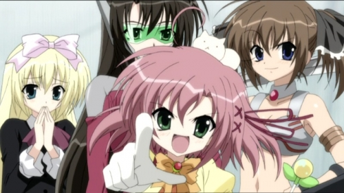 Аниме - Anime - Подвиги Школьного совета: Хроники академии Хэкиё - Seitokai no Ichizon [2009]