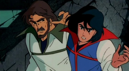 Аниме - Anime - Space Warrior Baldios Movie - Космический воин Балдиос - Фильм [1981]