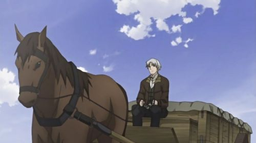 Spice and Wolf anime screen shot