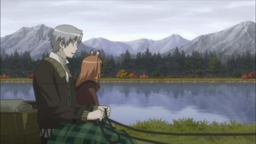 Аниме - Anime - Spice and Wolf II - Волчица и пряности (второй сезон) [2009]