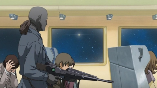 Аниме -             Anime - The Galaxy Railways: A Letter from the Abandoned             Planet -             Галактические Железные Дороги OVA [2007]