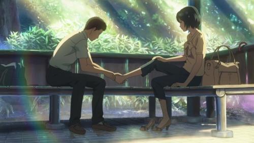 Аниме - Anime - The Garden of Words - Сад изящных слов [2013]