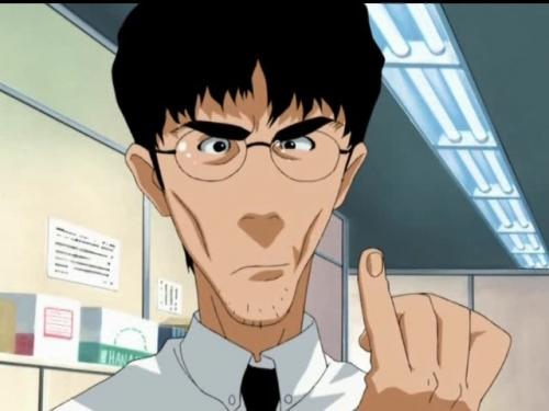 Аниме - Anime - The Legend of Black Heaven - Столоначальник Одзи [1999]