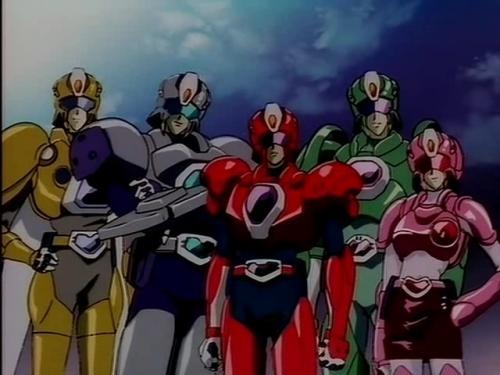 Аниме - Anime - The Special Duty Combat Unit Shinesman - Tokuma Sentai Shinesman [1996]