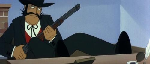 Аниме - Anime - The Three Musketeers in Boots - Кот в сапогах на Диком Западе [1972]