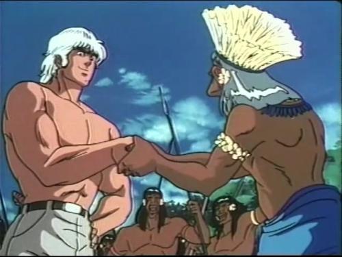 Аниме - Anime - Wounded Man - Человек со шрамом [1986]