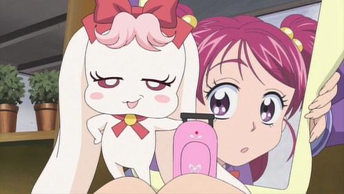 Аниме -             Anime - Да! Хорошенькое лекарство 5 - Фильм - Yes! Precure 5: Kagami no             Kuni no Miracle Daibouken! [2007]