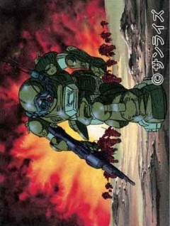 Armored Trooper Votoms: Battle of the Heterogenous Species, Soukou Kihei VOTOMS: Big Battle, Бронированные воины ВОТОМы OVA-2, аниме, anime, анимэ