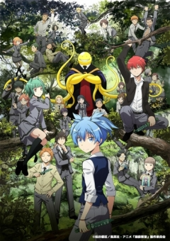 Assassination Classroom 2nd Season, Ansatsu Kyoushitsu 2nd Season, Класс убийц ТВ-2, аниме, anime, анимэ