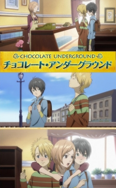Chocolate Underground, Chocolate Underground, Нелегальный шоколад, аниме, anime, анимэ