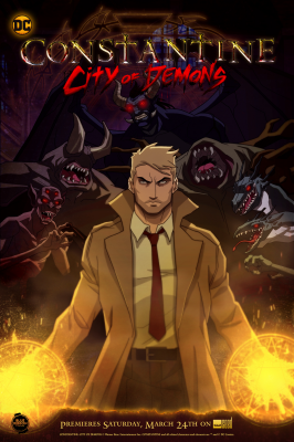 Constantine: City of Demons, Constantine: City of Demons, Константин: Город демонов, аниме, anime, анимэ