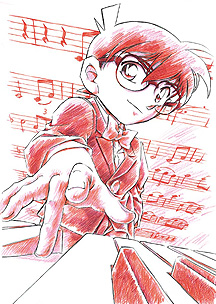 Detective Conan Magic File 2: Kudou Shinichi - The Case of the Mysterious Wall and the Black Lab, Meitantei Conan Magic File 2: Kudou Shin'ichi Nazo no Kabe to Kuro Lab Jiken, Meitantei Conan Magic File 2, аниме, anime, анимэ