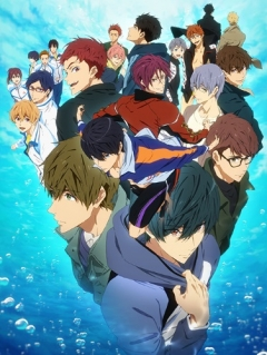 Free! 3rd Season, Free! Dive to the Future, Вольный стиль! 3, аниме, anime, анимэ