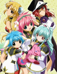 Galaxy Angel 4th, Galaxy Angel X, Галактический ангел ТВ 4, аниме, anime, анимэ
