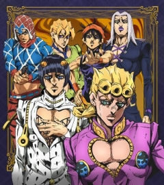 JoJos Bizarre Adventure: Golden Wind, JoJo no Kimyou na Bouken: Ougon no Kaze, Невероятные приключения Джоджо 5, аниме, anime, анимэ