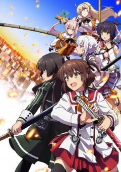 Katana Maidens: Toji no Miko, Toji no Miko, Жрицы с мечами, Sword User Shrine Maiden, The Shrine Maiden Swordwielders, аниме, anime